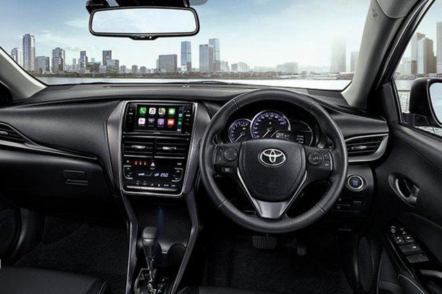 Ra mắt Toyota Yaris 2021: Đầu như Camry, có chi tiết gần giống Corolla Cross - Ảnh 3.