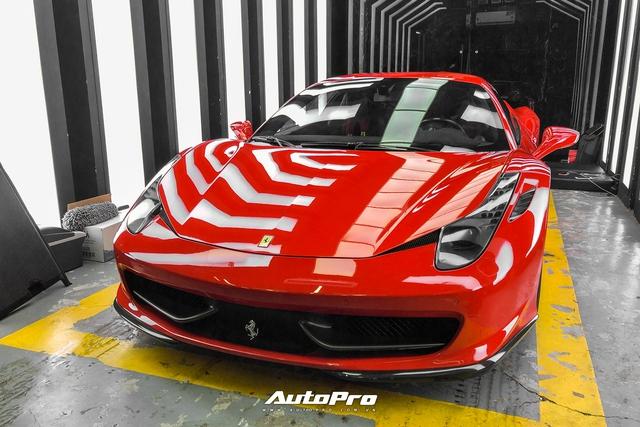 Soi nội thất siêu độc của Ferrari 458 Italia vừa về Việt Nam - Ảnh 1.