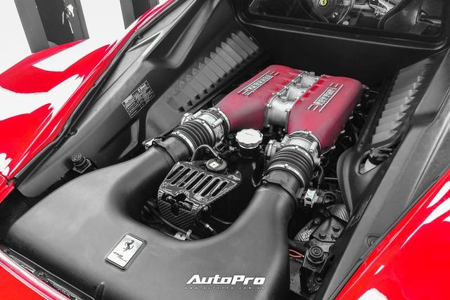 Soi nội thất siêu độc của Ferrari 458 Italia vừa về Việt Nam - Ảnh 7.