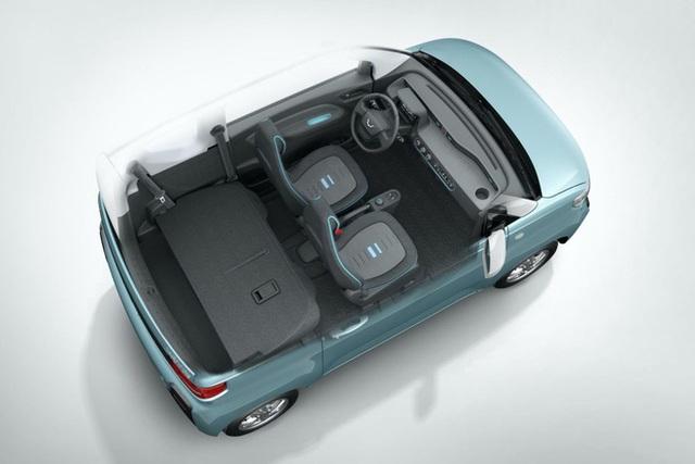 Cận cảnh ô tô điện giá 96 triệu đồng của Trung Quốc, nhái Kia Morning - Ảnh 3.