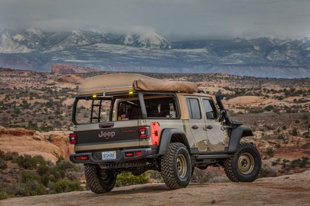 Jeep Gladiator Farout - Xe dành cho người thích đi du lịch dài ngày - Ảnh 3.