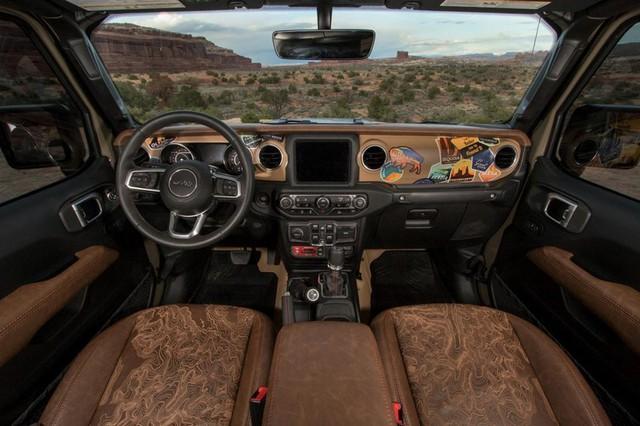 Jeep Gladiator Farout - Xe dành cho người thích đi du lịch dài ngày - Ảnh 4.