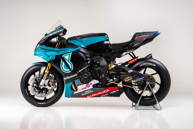 Bản sao MotoGP Petronas Yamaha SRT YZF-R1 2020 - Ảnh 5.