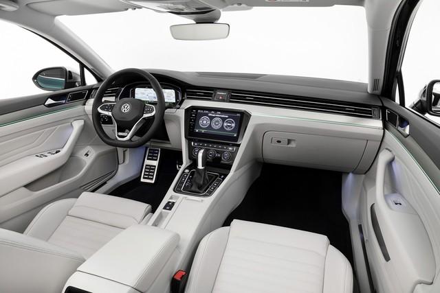 Volkswagen Passat đời mới nâng tầm, sử dụng khung gầm hoàn toàn mới đấu Toyota Camry, Honda Accord - Ảnh 4.