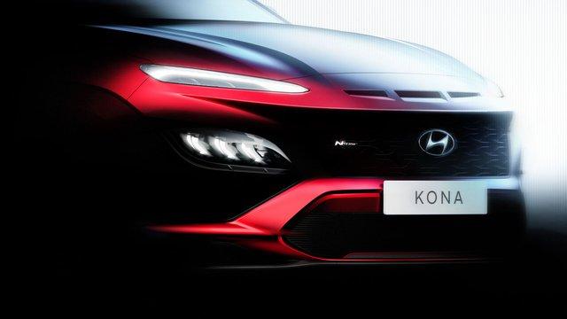 Hé lộ thiết kế Hyundai Kona 2021: Đầu xe điệu đà hơn, bản hiệu suất cao hầm hố kiểu Lamborghini Urus - Ảnh 2.
