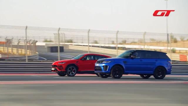SUV nhanh nhất thế giới là đây: Lamborghini Urus hủy diệt Range Rover Sport SVR trong đua drag - Ảnh 1.