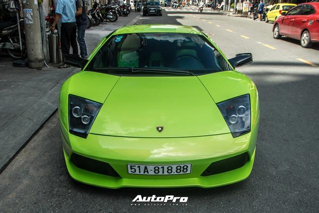 Sau một tháng về tay chủ mới, Lamborghini Murcielago xanh cốm độc nhất Việt Nam tái xuất trên phố Sài Gòn - Ảnh 2.