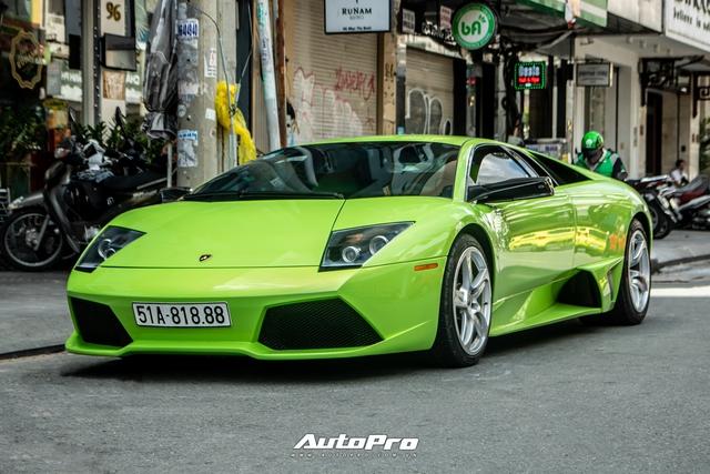 Sau một tháng về tay chủ mới, Lamborghini Murcielago xanh cốm độc nhất Việt Nam tái xuất trên phố Sài Gòn - Ảnh 5.