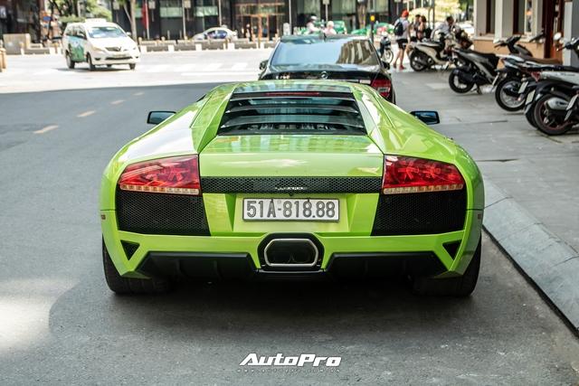 Sau một tháng về tay chủ mới, Lamborghini Murcielago xanh cốm độc nhất Việt Nam tái xuất trên phố Sài Gòn - Ảnh 7.
