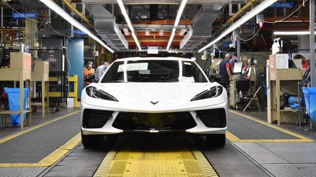 Chiếc Corvette thứ 1,75 triệu xuất xưởng tại Kentucky - Ảnh 1.