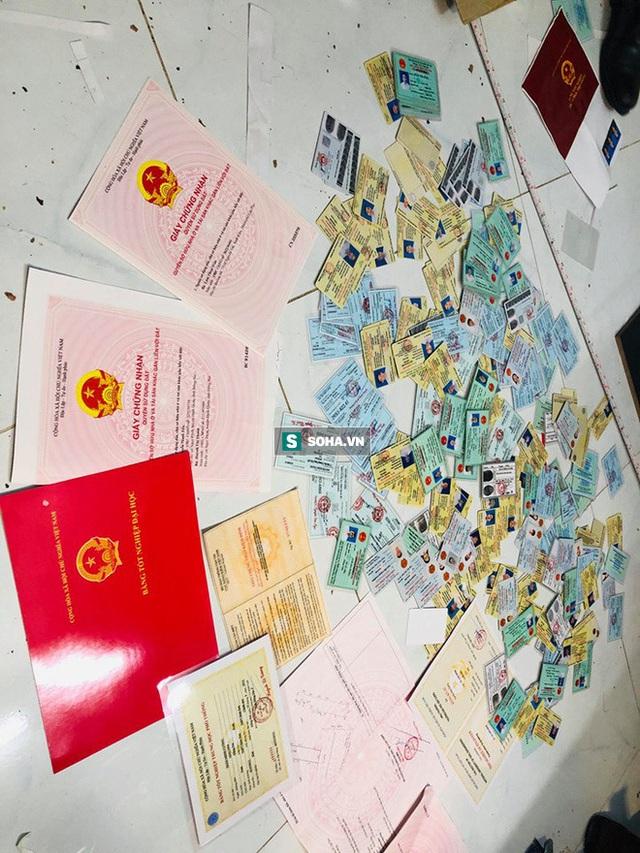 Bộ Công an triệt phá đường dây làm giả giấy tờ, con dấu, biển số xe cực lớn ở các tỉnh thành phía Nam - Ảnh 5.