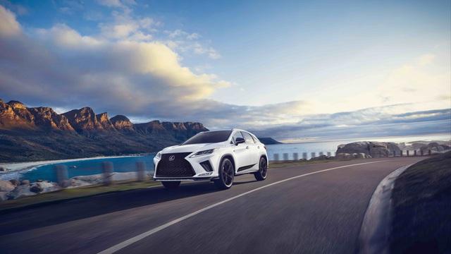 Lexus RX 2021 thêm bản Black Line cho đại gia thích hàng độc