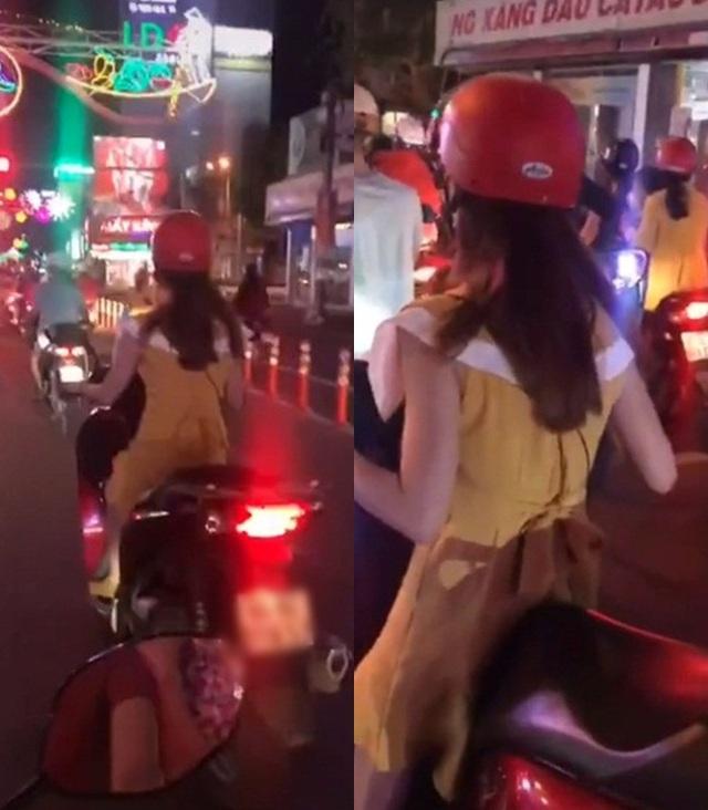 Chiều cao khiêm tốn nhưng đam mê đi xe SH, cô gái xử lý cực kỳ bất ngờ khi dừng đèn đỏ khiến ai cũng bật cười - Ảnh 1.