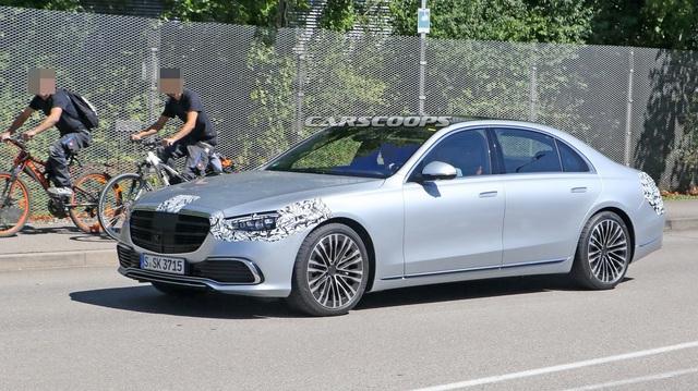 Lộ nội thất Mercedes-Benz S-Class 2021: 5 màn hình, điều khiển đều bằng cảm ứng