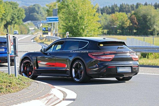 Porsche Taycan sedan bán quá chạy, phiên bản Cross Turismo sắp ra mắt gặp rắc rối - Ảnh 3.