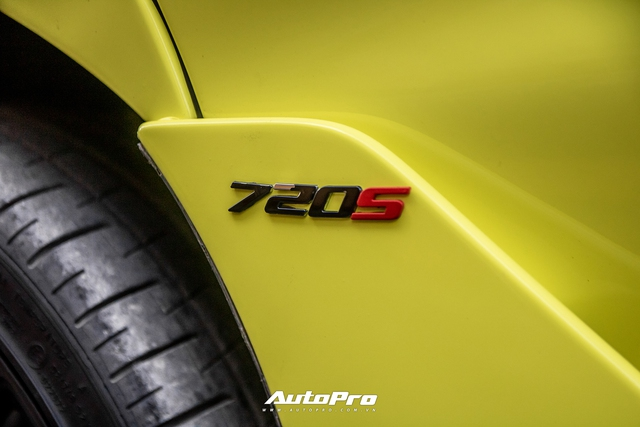 Cận cảnh McLaren 720S đầu tiên Việt Nam đổi màu neon chói loá - Ảnh 5.