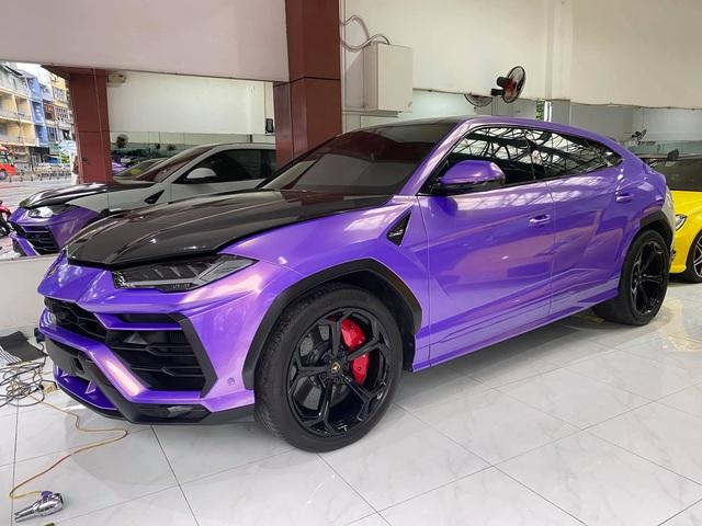 Lamborghini Urus từng thuộc sở hữu của Minh nhựa lột xác với màu cực độc - Ảnh 1.