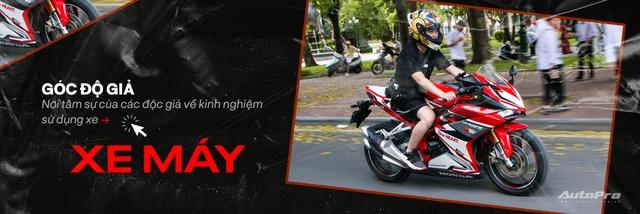 Tự độ xe tới quen bị cắt vào tay, ốc bắn vào mặt, tay chơi công nghệ đánh giá Kawasaki Z300: Hợp người lên đời từ xe côn tay 150cc - Ảnh 10.