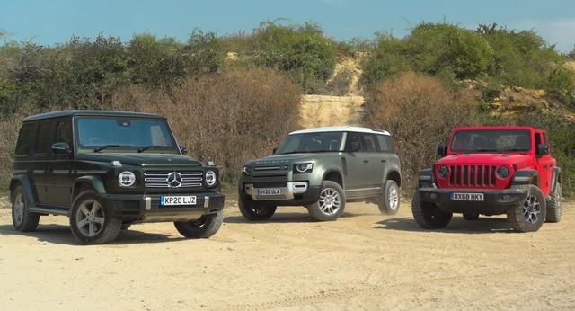 Land Rover Defender tỉ thí off-road Mercedes-Benz G-Class, đại gia Việt cần xem trước khi xuống tiền - Ảnh 1.