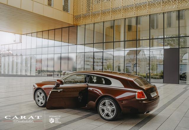 Rolls-Royce Wraith độ thân wagon độc nhất vô nhị cho giới siêu giàu - Ảnh 4.