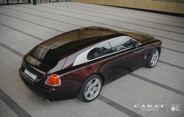 Rolls-Royce Wraith độ thân wagon độc nhất vô nhị cho giới siêu giàu - Ảnh 1.