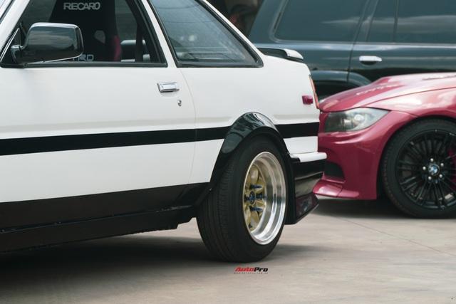 Bắt gặp hàng hiếm Toyota AE86: Chỉ có 2 chiếc tại Việt Nam, mẫu xe lừng danh được dân chơi Nhật ưa chuộng - Ảnh 7.