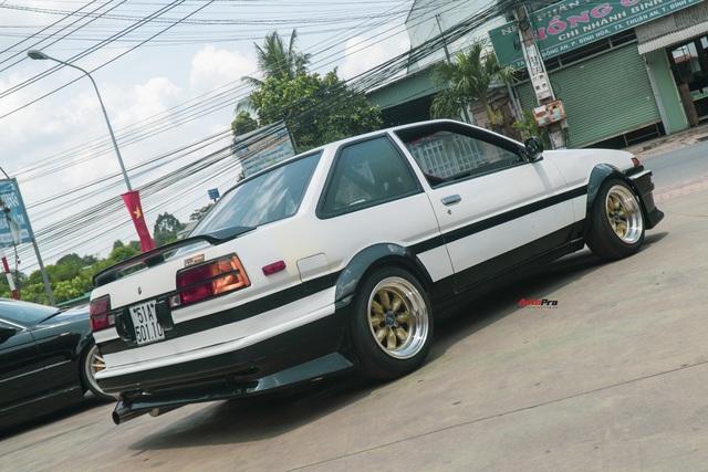 Bắt gặp hàng hiếm Toyota AE86: Chỉ có 2 chiếc tại Việt Nam, mẫu xe lừng danh được dân chơi Nhật ưa chuộng - Ảnh 8.