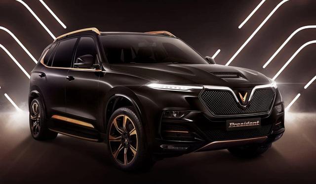 VinFast President lộ diện: SUV hiệu năng cao đầu tay của người Việt, giá dự kiến không rẻ, tham vọng đấu Lexus LX570 - Ảnh 1.