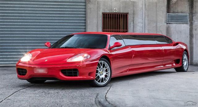Siêu xe Ferrari 360 Modena phiên bản limo cực độc tìm chủ mới - Ảnh 1.