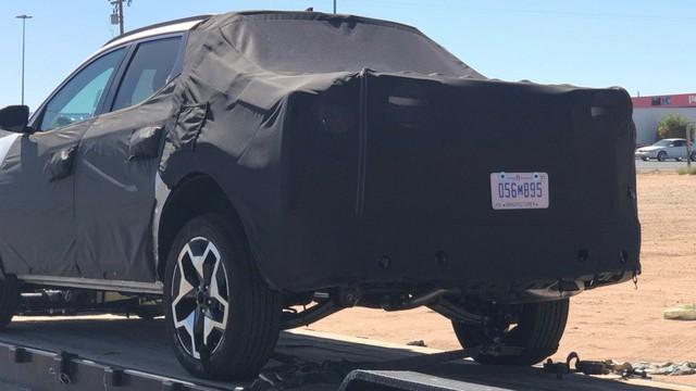 Hyundai Santa Cruz lại lộ mặt tại Mỹ, chờ ngày ra mắt sớm mai đấu Ford Ranger - Ảnh 3.