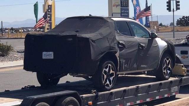 Hyundai Santa Cruz lại lộ mặt tại Mỹ, chờ ngày ra mắt sớm mai đấu Ford Ranger - Ảnh 4.