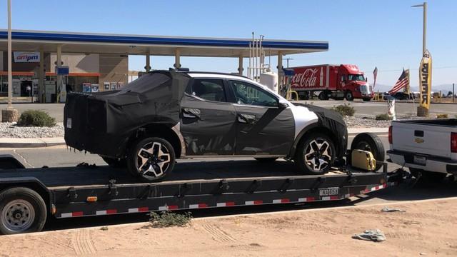Hyundai Santa Cruz lại lộ mặt tại Mỹ, chờ ngày ra mắt sớm mai đấu Ford Ranger - Ảnh 1.