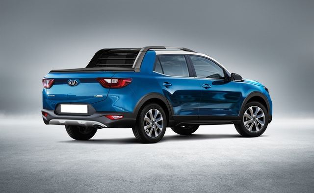 Kia sắp ra mắt bán tải cạnh tranh Ford Ranger: Bán tải Hàn ngập tràn công nghệ - Ảnh 1.