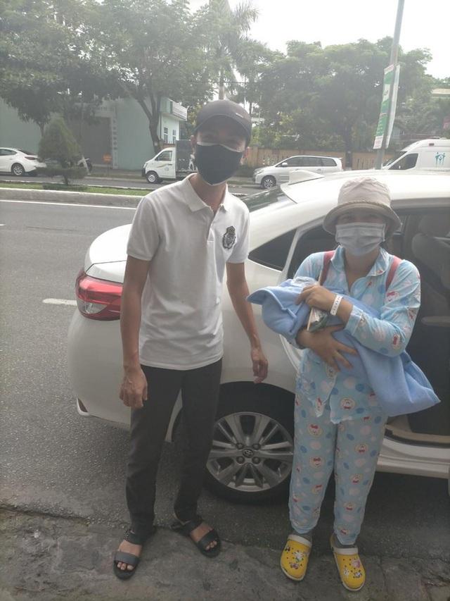 Đà Nẵng: Đội xe đặc biệt chuyên chở bà bầu giữa tâm dịch Covid-19 - Ảnh 2.
