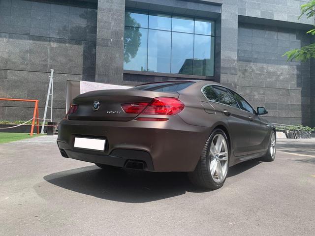 BMW 650i Gran Coupe ngoại thất độc nhất Việt Nam rao giá hơn 2 tỷ đồng, ODO sau 5 năm khiến nhiều người ngạc nhiên - Ảnh 2.