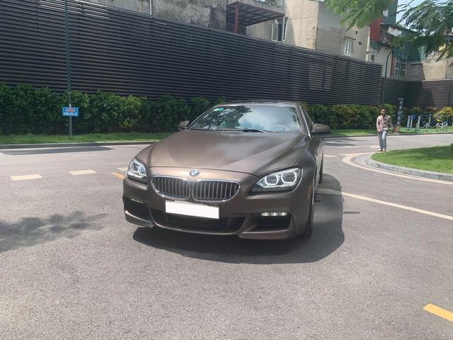 BMW 650i Gran Coupe ngoại thất độc nhất Việt Nam rao giá hơn 2 tỷ đồng, ODO sau 5 năm khiến nhiều người ngạc nhiên - Ảnh 1.