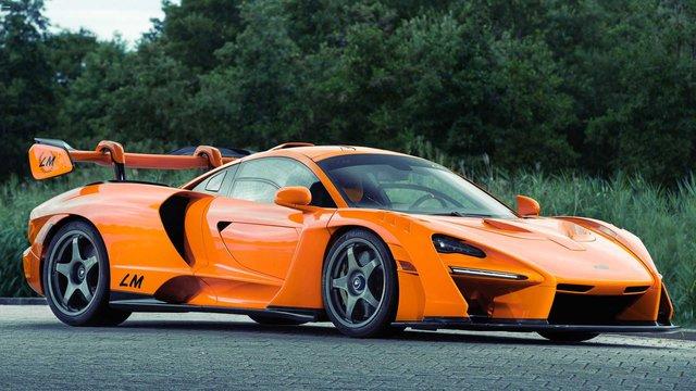 Trình làng McLaren Senna LM siêu độc: Chỉ 5 người được mua, nhiều chi tiết mạ vàng - Ảnh 1.