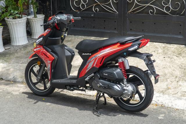 Benelli VZ125i giá 22,8 triệu đồng đấu Honda Vision và Yamaha FreeGo tại Việt Nam - Ảnh 8.