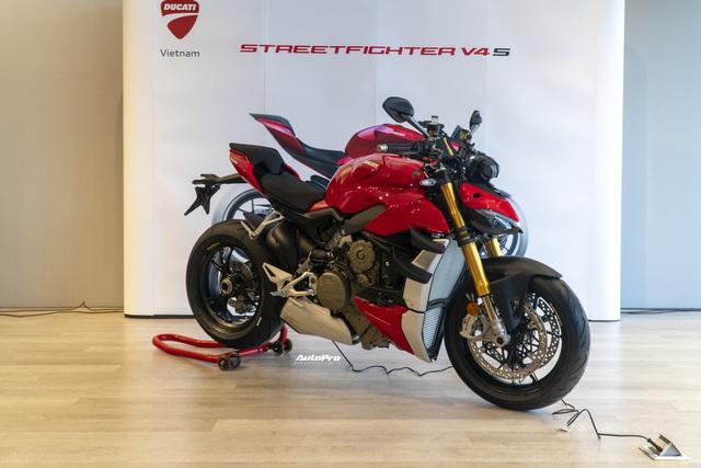 Lộ diện Ducati Streetfighter V4 chính hãng trước ngày ra mắt tại Việt Nam, giá từ 650 triệu đồng