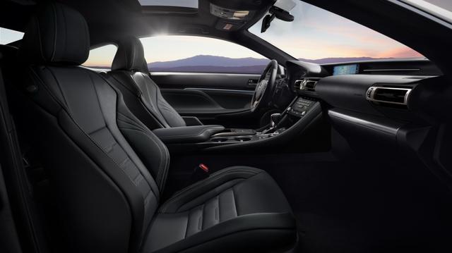 Lexus ra mắt RC Coupe 2021 và bản đặc biệt Black Line Special Edition  - Ảnh 5.