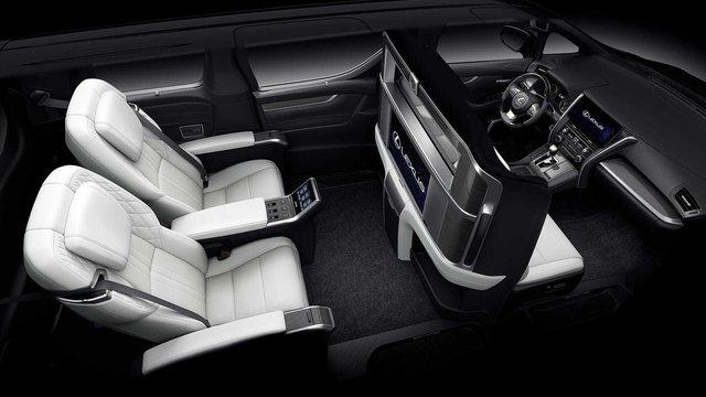 Ra mắt Lexus LM 4 chỗ siêu sang cho Chủ tịch: Giá quy đổi 5 tỷ, có vách ngăn chứa TV 26 inch - Ảnh 3.