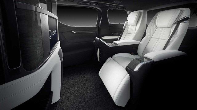 Ra mắt Lexus LM 4 chỗ siêu sang cho Chủ tịch: Giá quy đổi 5 tỷ, có vách ngăn chứa TV 26 inch - Ảnh 5.