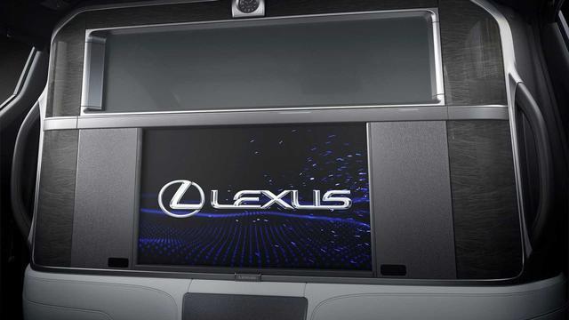 Ra mắt Lexus LM 4 chỗ siêu sang cho Chủ tịch: Giá quy đổi 5 tỷ, có vách ngăn chứa TV 26 inch - Ảnh 4.