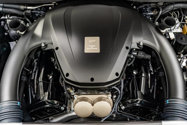 Cận cảnh chiếc Lexus LFA màu nâu độc nhất vô nhị - Ảnh 6.