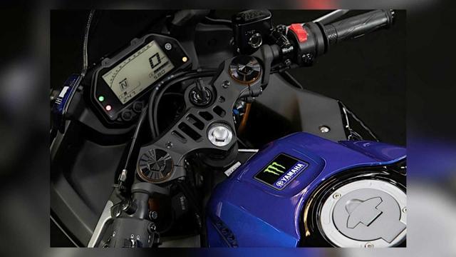 Yamaha YZF-R3 Monster Energy MotoGP Edition 2021 chính thức ra mắt  - Ảnh 4.