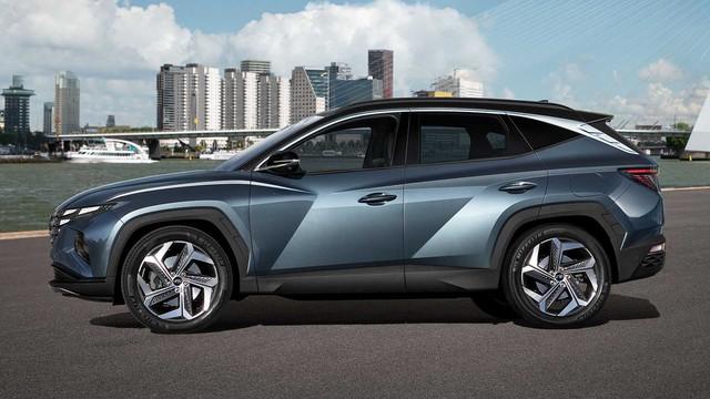 Ra mắt Hyundai Tucson 2021: Lột xác thiết kế, nội thất như Audi, sức ép lên Mazda CX-5 và Honda CR-V - Ảnh 10.
