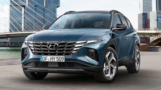 Ra mắt Hyundai Tucson 2021: Lột xác thiết kế, nội thất như Audi, sức ép lên Mazda CX-5 và Honda CR-V - Ảnh 8.