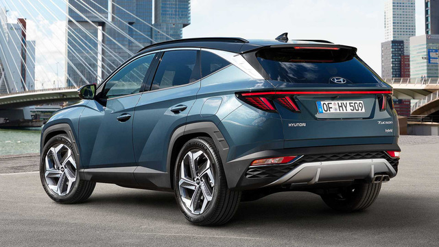 Ra mắt Hyundai Tucson 2021: Lột xác thiết kế, nội thất như Audi, sức ép lên Mazda CX-5 và Honda CR-V - Ảnh 9.