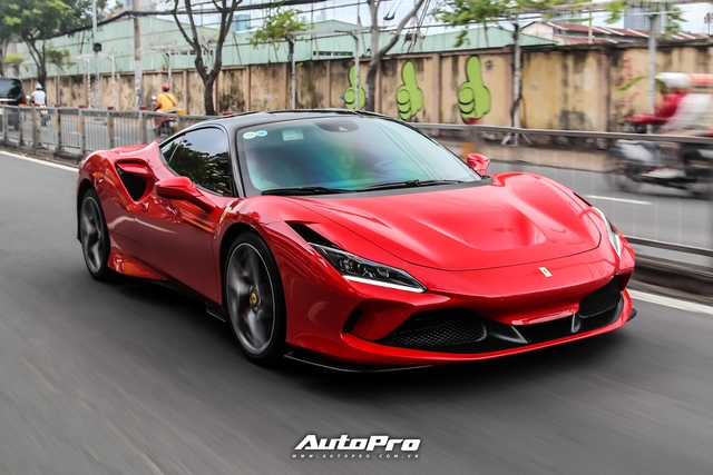 Doanh nhân Nguyễn Quốc Cường lái Ferrari F8 Tributo dạo phố cuối tuần với điểm nhấn mới lạ - Ảnh 7.