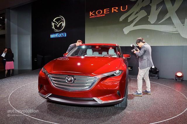Mazda CX-5 thế hệ mới đòi đấu BMW X3 bằng động cơ 6 xy-lanh, dẫn động cầu sau - Ảnh 1.